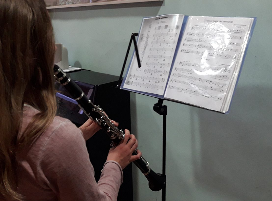 Clarinet Ariadna Burjachs